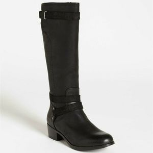 UGG Australia Darcie Womens Black Leather Boots